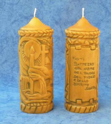 candela battesimo comunione cresima