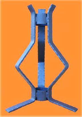 portacero ferro battuto
