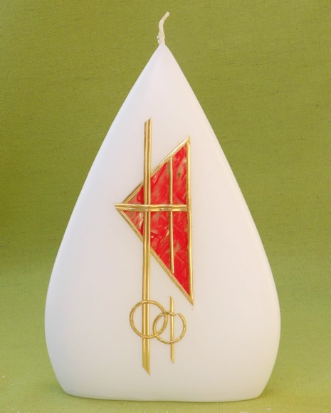 Super Candele per Matrimonio e Anniversari, Cereria Giovanelli, candele  ED75