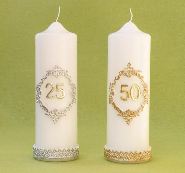 abbastanza Candele per Matrimonio e Anniversari, Cereria Giovanelli, candele  MX34